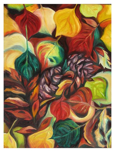 "Autumn Leaves - 20 x 16"", Oil on Canvas, 2013"